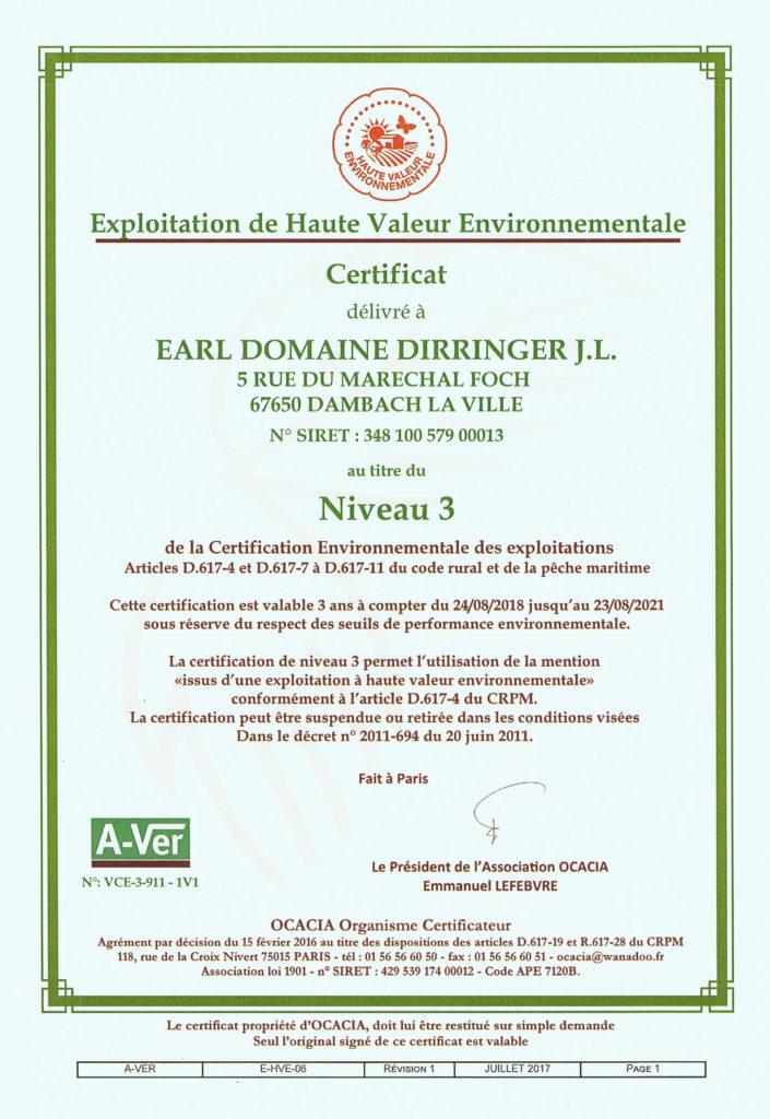 Distinctions-HVE-haute valeur environnementale
